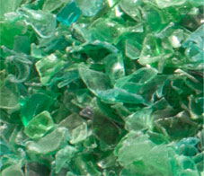 Distribution plastics Dieffe - Semi processed, recycled plastic PET flakes